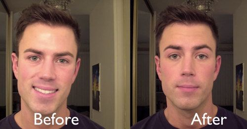 "Using a tinted moisturizer is also a simple way to help even out your skin tone and manage oily skin. | 20 ""No-Makeup"" Makeup Tips Every Guy Should Know"