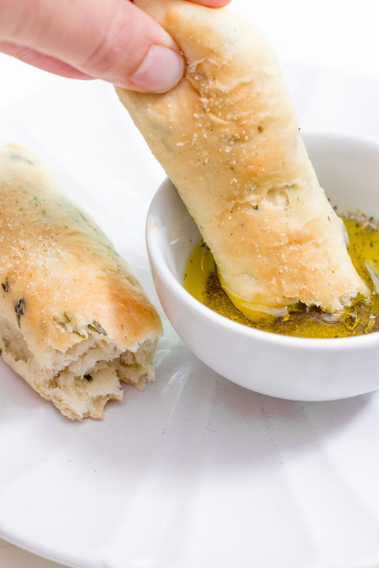 Garlic and Herb Breadsticks (need a stand mixer)