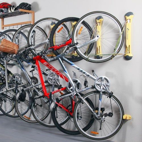 Steady Rack Wall Mounted Bike Storage Ii Garage Solutions Bikes In 2018