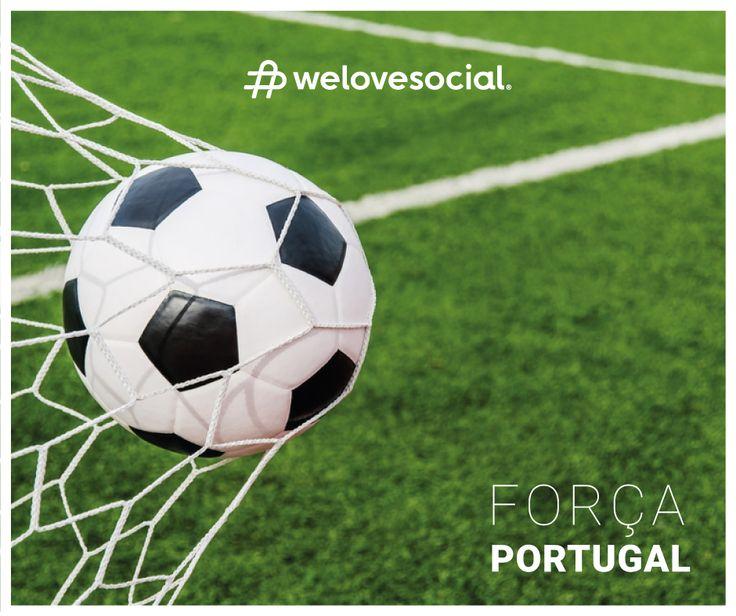 11 milhões a apoiar, 11 milhões a acreditar. Força Portugal! ⚽