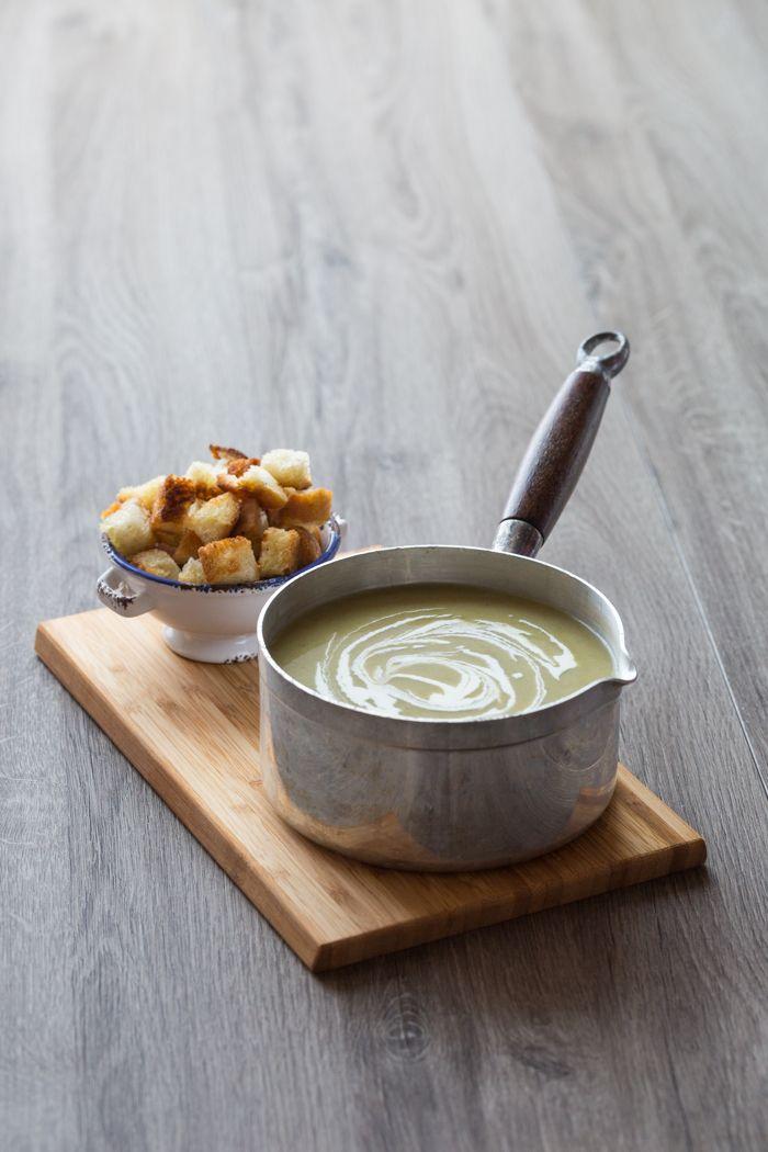 Soupe Poireau Pomme de Terre / Leek and potatoe soup - for Larousse cuisine