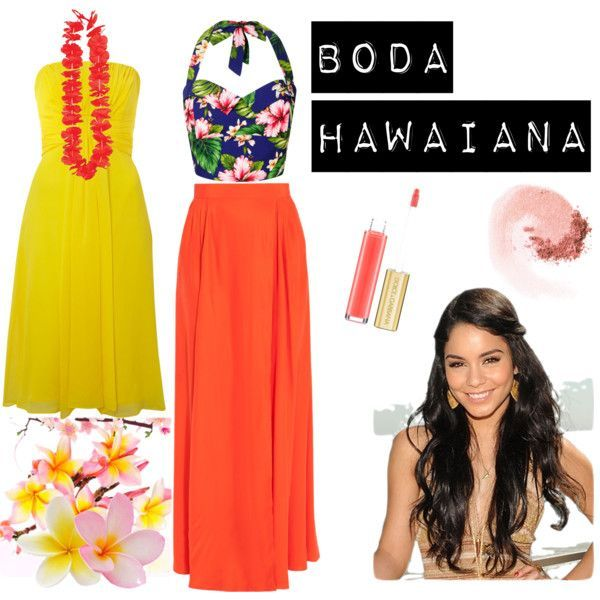 "Cool Party Dress ""HAWAIIAN PARTY"" by pamsalas on Polyvore... Check more at http://shop24.ga/fashion/party-dress-hawaiian-party-by-pamsalas-on-polyvore/"