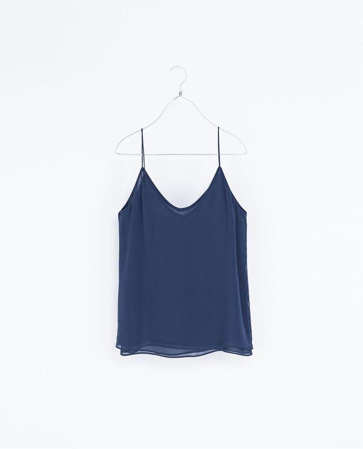 ZARA - WOMAN - STRAPPY TOP