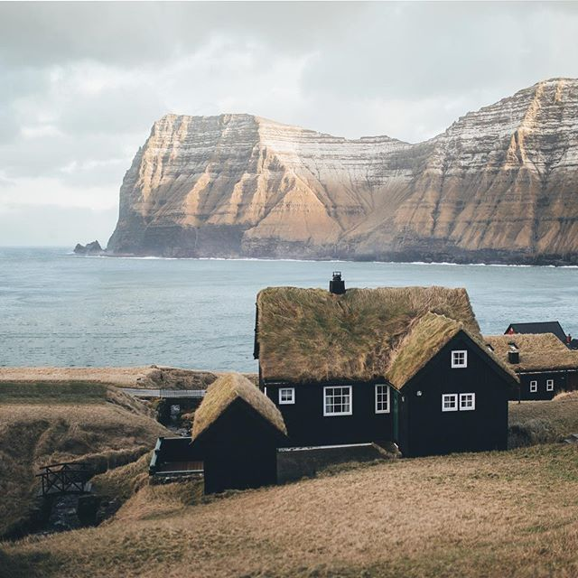 Strolling through the charming villages of the Faroes.