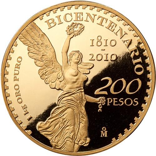 メキシコ 2012年 メキシコ独立宣言200周年記念 1kg 金貨 プルーフ
