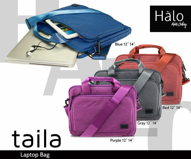Taila - Stylish and Sturdy Laptop bag with several compartments for accessories.  Available at HALO Mobile Clothing SM CITY SAN LAZARO 3rd Floor Cyberzone!
