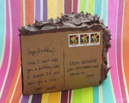 Learn How to Mail a Slice of Cake