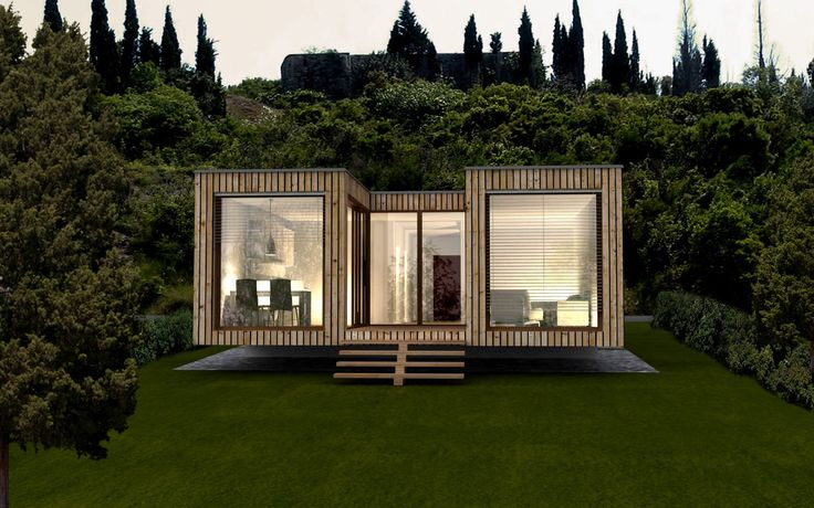 1000 images about maison container on pinterest for Fertighaus container modul