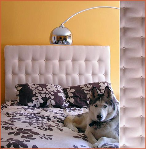 I saw someone make one of these on tv.  Maybe someday, probably never.  A girl can dream!Projects, Headboards Ideas, Tufted Headboards, Head Boards, Headboards Tutorials, Diy Headboards, Diy Tufted, Upholstered Headboards, Fabrics Headboards
