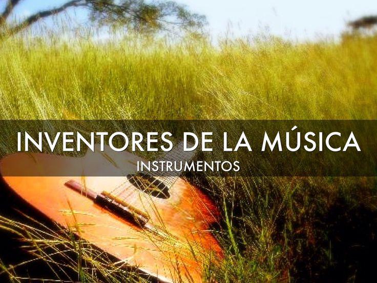 """He creado """"Inventores Musicales"""" con Haiku Deck."""