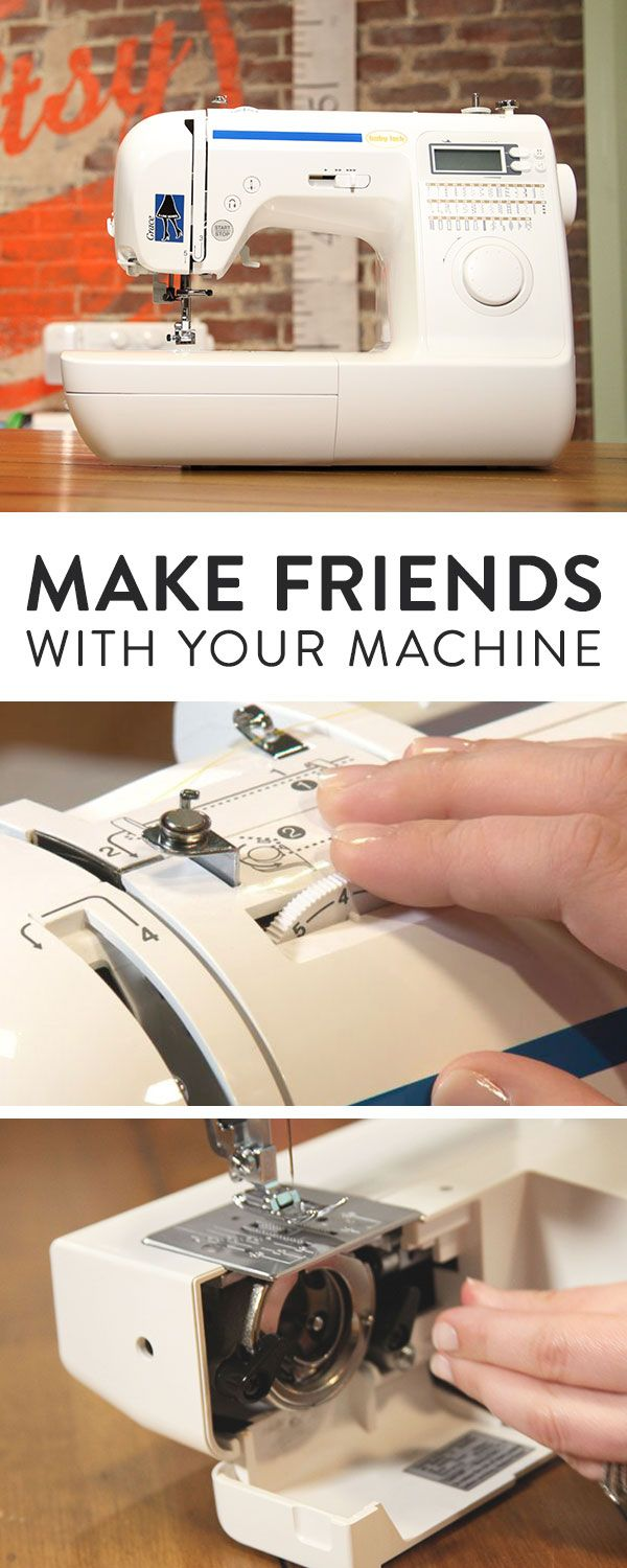 Free class! Make your sewing machine work for you as you learn how to thread, clean and use your machine. Follow along with lifetime access to expert-led, online video lessons you can enjoy at home!