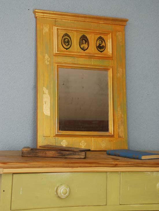 Vyrobte si zrkadlo aké v obchode nekúpite - pallet mirror
