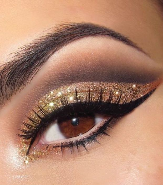 Simple makeup ideas for brown eyes