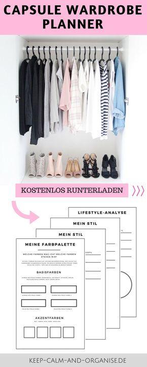 Minimalistische Garderobe, Capsue Wardrobe, Minimalismus Mode, Minimalismus Klei…