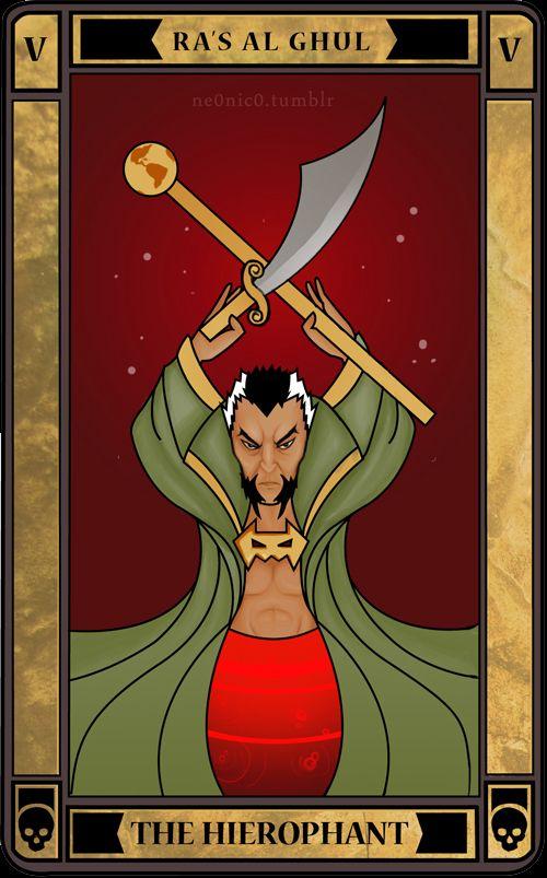 THE HIEROPHANT: Ra's Al Ghul by ne0nic0.deviantart.com on @deviantART #dccomics