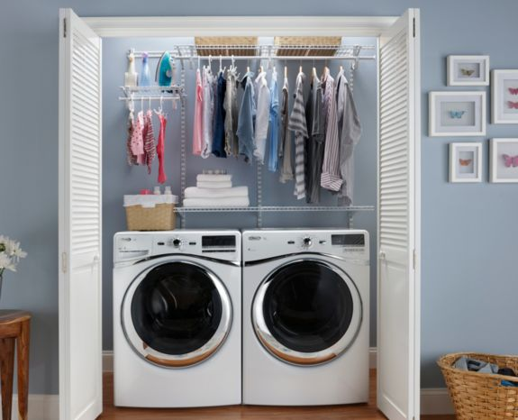 Did you know Americans spend more time in the laundry room than the bathroom? Almost an average of eight hours a week! Make that room somewhere functional and beautiful.