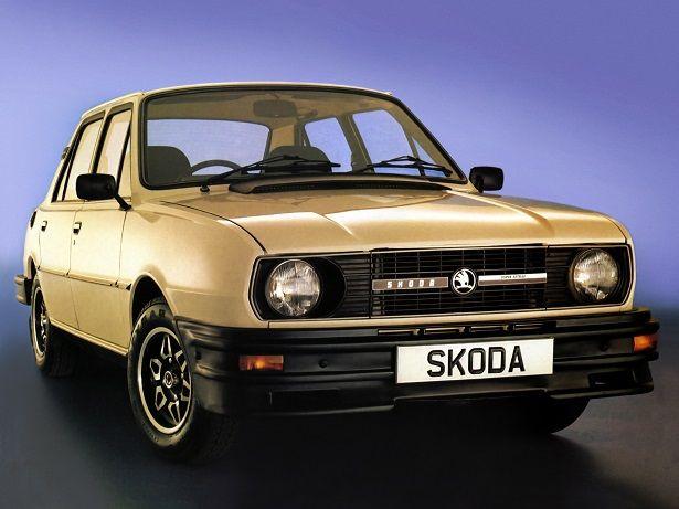 Skoda 120 Super Estelle (1981 – 1983).