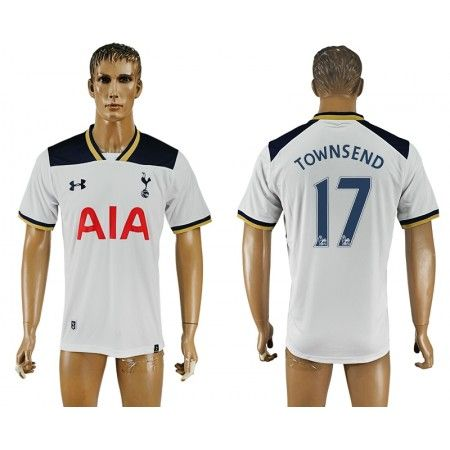 Tottenham Hotspurs 16-17 #Townsend 17 Hjemmebanetrøje Kort ærmer,208,58KR,shirtshopservice@gmail.com