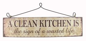 A clean kitchen Sign by Heaven Sends - Another Gorgeous Day