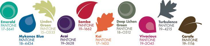 Pantone Fashion Color Report Fall 2013 - Color trend forecast