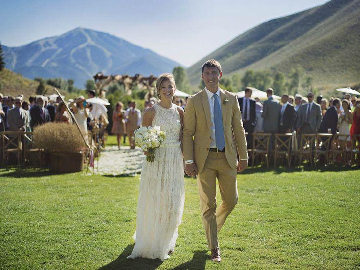 Rustic Mountain Wedding Ideas | Sun Valley Magazine #sunvalley #idaho # weddings
