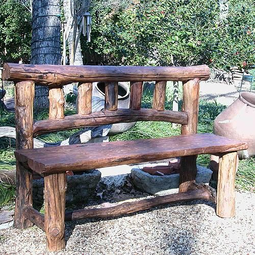 Rocky Mountain Garden Bench...I'm going to try & make this