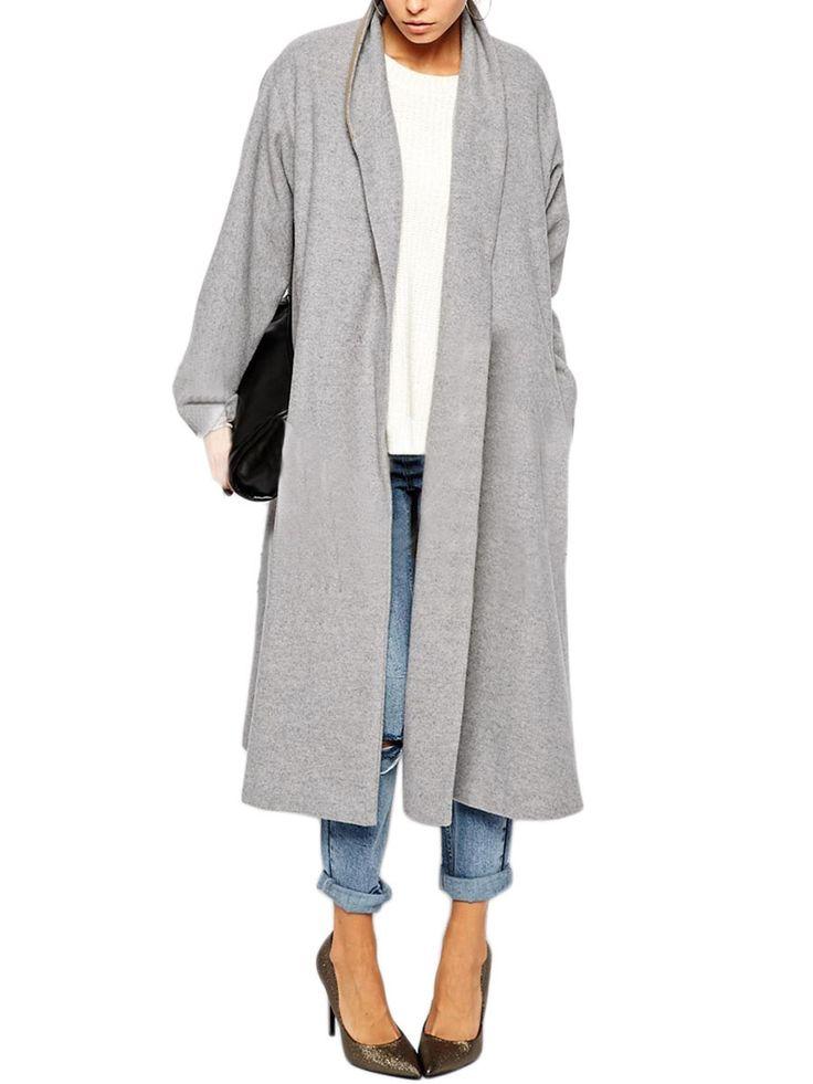 Long Grey Coat Pinterest'te hakkında 1000'den fazla fikir ...