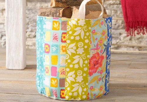 Free sewing project on how to make this patterned bag