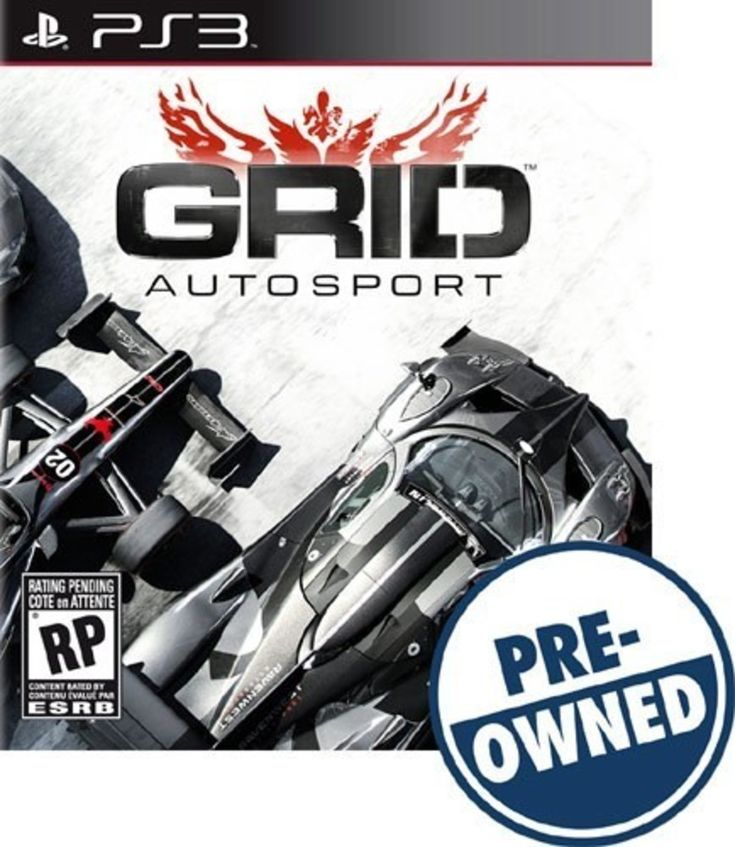 Grid Autosport Limited Black Edition - PRE-Owned - PlayStation 3