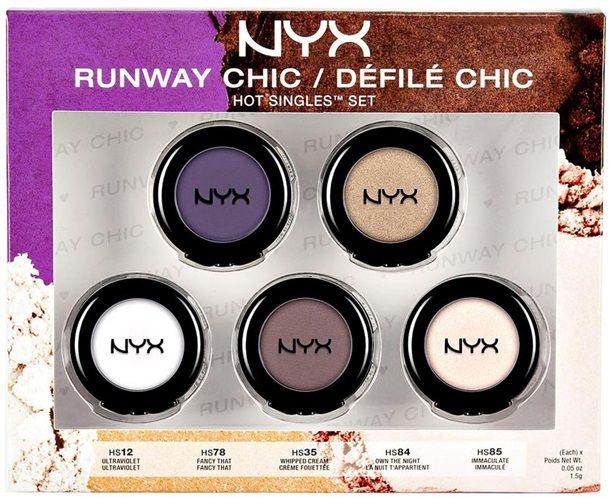 NYX Holiday 2014 Gift Sets - NYX Hot Singles 5 Piece Runway Chic Set $14.99
