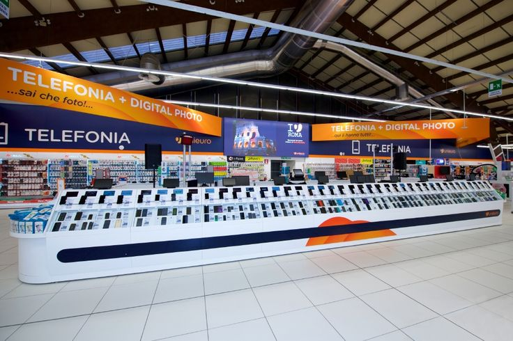 #Retail #Unieuro #display #digital #technology