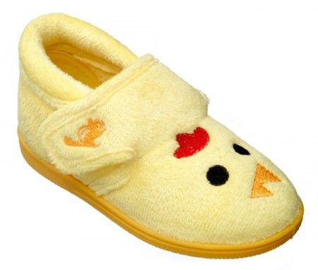 Chipmunks Tweet Yellow Slippers