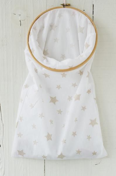DIY: Bolsa ropa sucia - Laundry bag