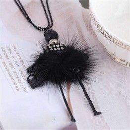 IF YOU Modern Doll Necklace