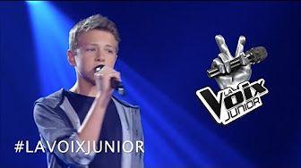 La Voix Junior | Marc-Antoine Brunelle | Auditions à l'aveugle - YouTube