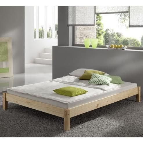 Kansas 4ft 6 Double Studio Pine Bed Frame