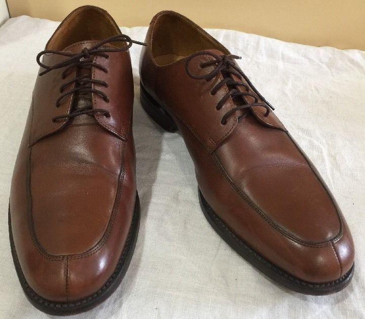 Florsheim Soft Pebbled Leather Burgundy Tassel Loafers Dress Shoes Men's Size 7D