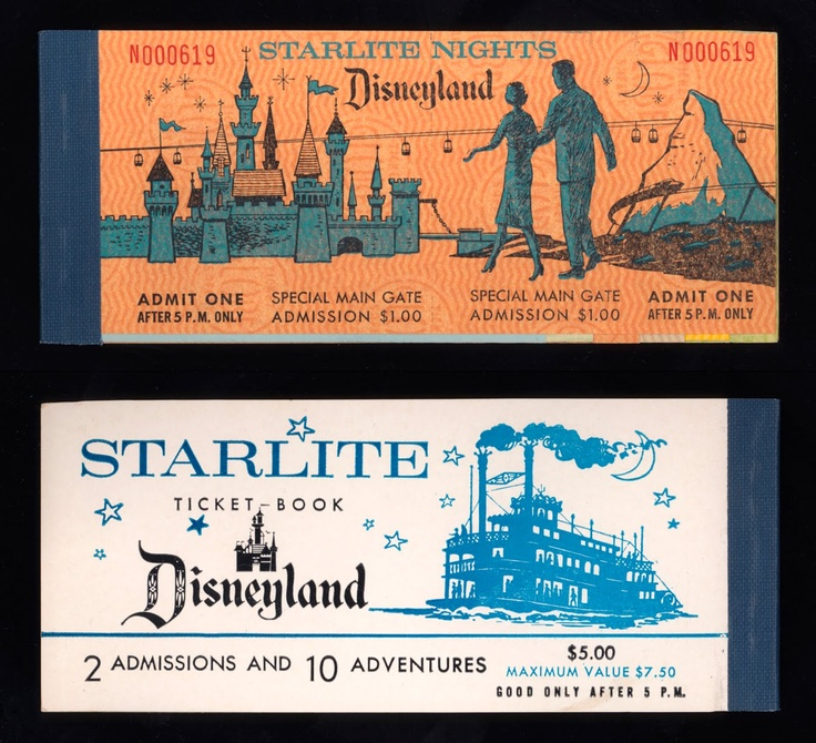 dating disneyland ticket books