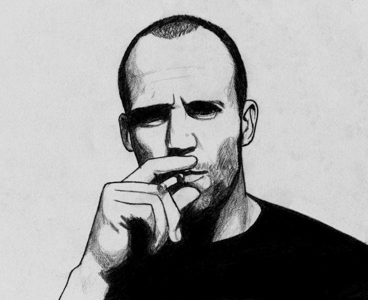 Jason Statham by Anghellic67.deviantart.com on @deviantART