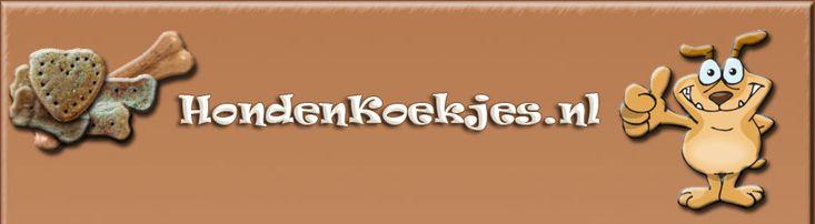 Hondenkoekjes - Recepten voor hondenkoekjes, hondensnacks, hondentaart, hondenpannenkoeken.