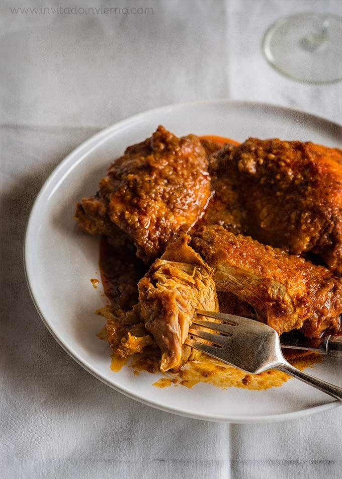 Ajillo de pollo a la almeriense | Recetas con fotos El invitado de invierno