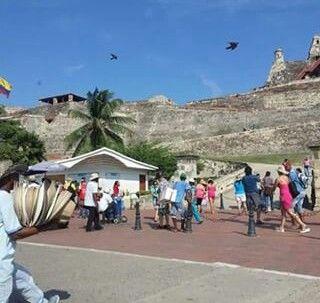 #castillo #san #felipe lugar turistico de cartagena
