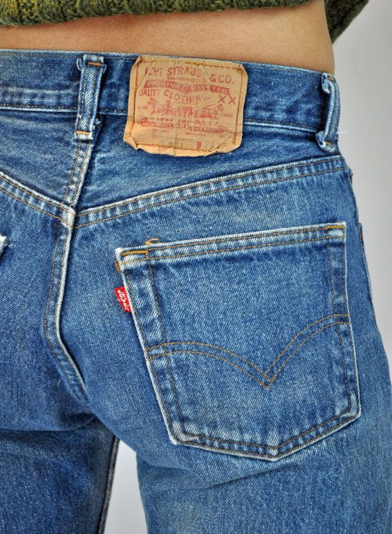 Vintage 70s Levis 501s HIGH waisted JEANS / by rockstreetvintage, $56.00
