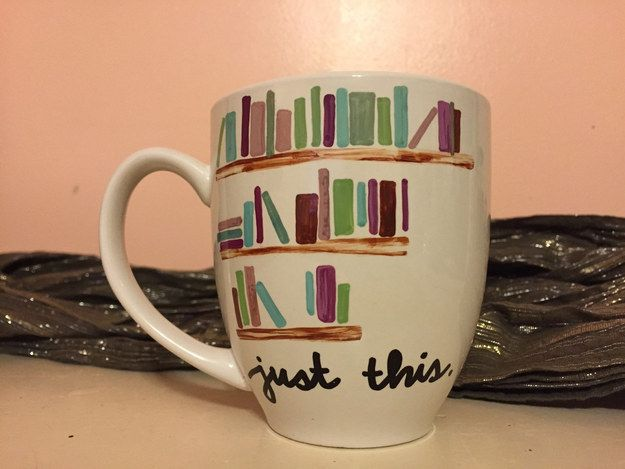 Just Books Mug   23 Awesome Mugs Only Book Nerds Will Appreciate I like 10, 6, and 4!