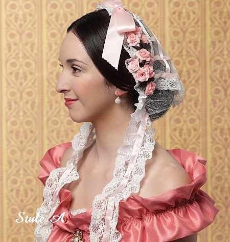 Custom, Made-To-Order, Civil War Headdresses, Hair Accessories. $25.00, via Etsy.