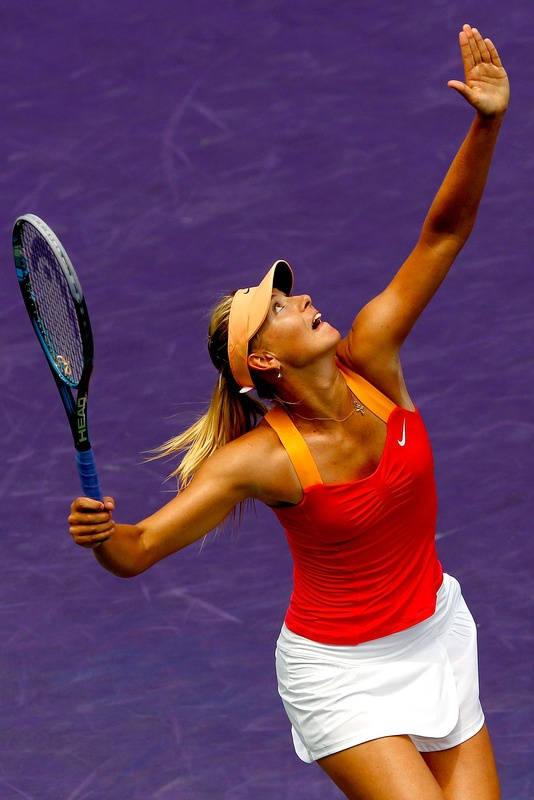 Maria Sharapova, FINAL Sony Ericsson vs Radwanska