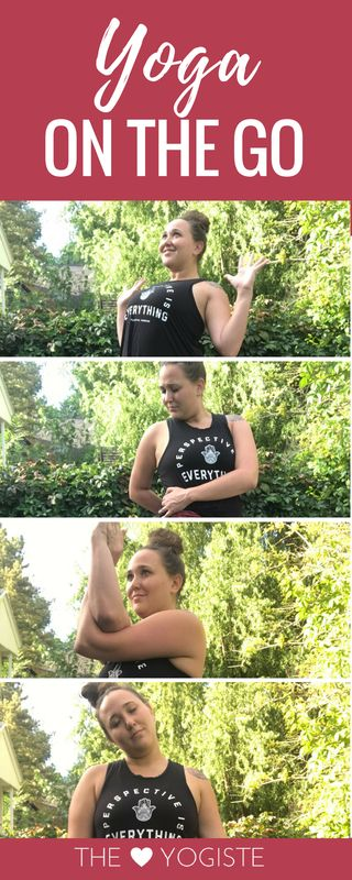 Are you a busy person? Finding it hard to get yoga in lately? Join me in 10 Poses You Need To Know for On The Go. Yoga can be done anywhere. -Yoga for Poses for Beginners, Yoga Inspiration
