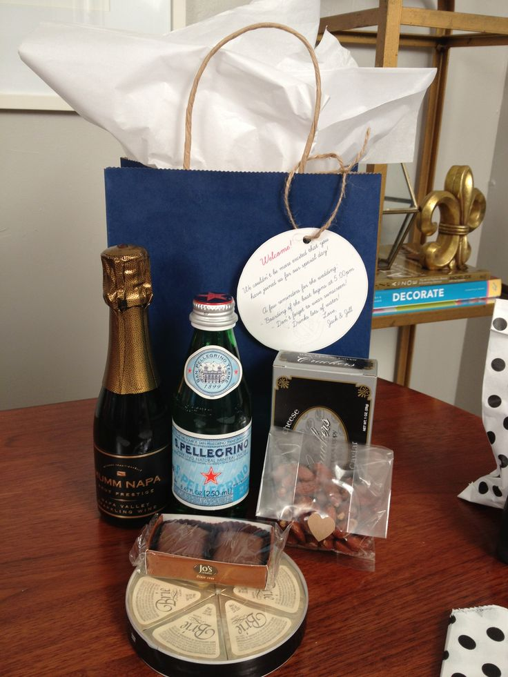 42 Best Welcome Bags Images On Pinterest