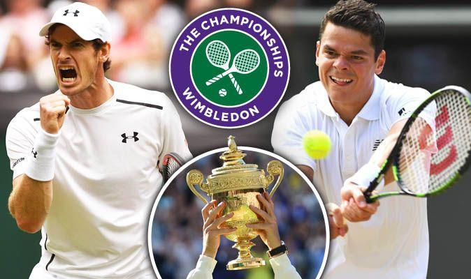 2016 Andy Murray v Milos Raonic