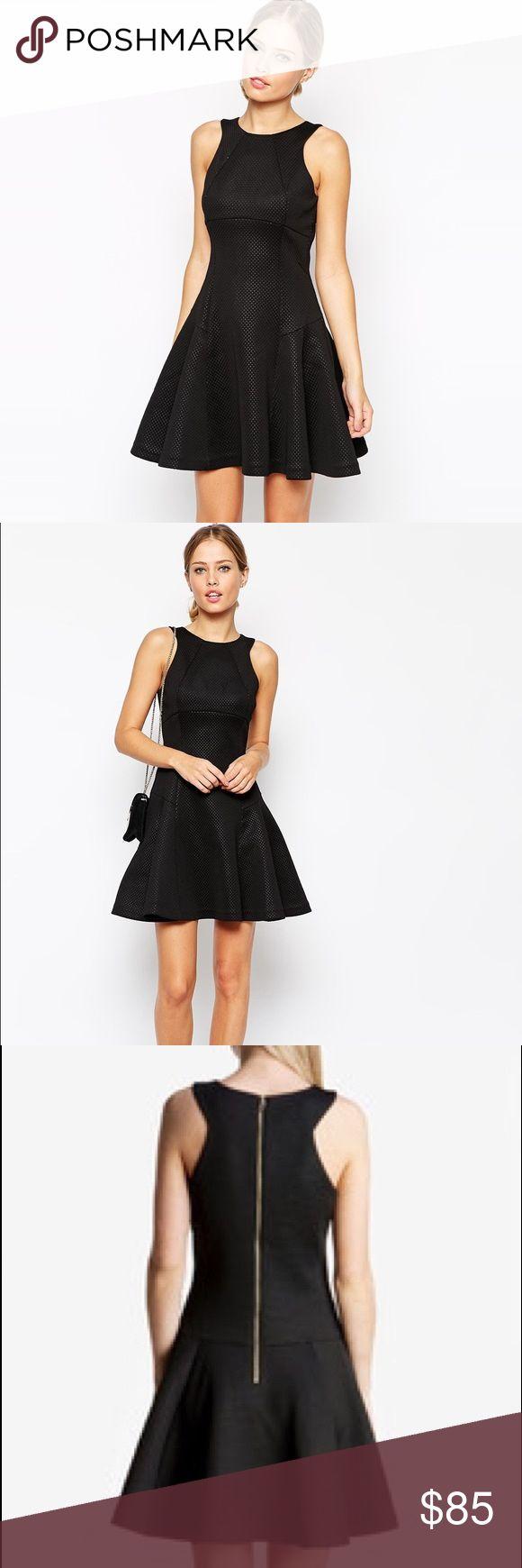 Ted Baker Cidia Black Dress So gorgeous! New condition -never worn. Size 2. Ted Baker London Dresses Mini